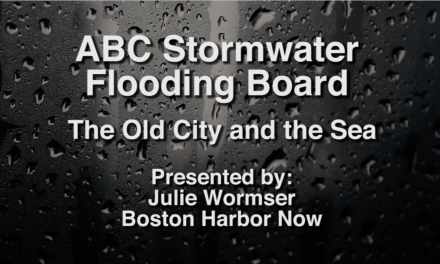 ABC Stormwater Flooding Board: The Old City and the Sea