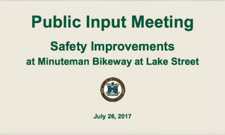 Lake Street Bikeway Public Meeting – July 26, 2017