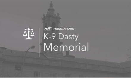 Public Affairs | K-9 Dasty Memorial