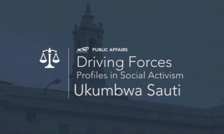 Driving Forces Driving Forces (Profiles in Social Activism) – Ukumbwa Sauti