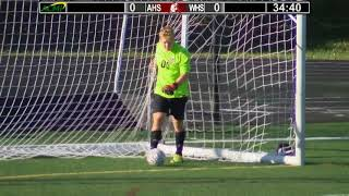 Arlington High School Boys Varsity Soccer vs Reading – Oct. 12, 2017