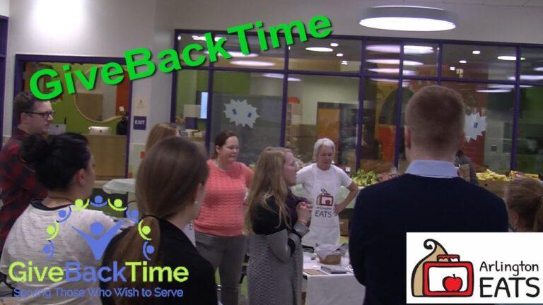 GiveBackTime – Arlington EATS