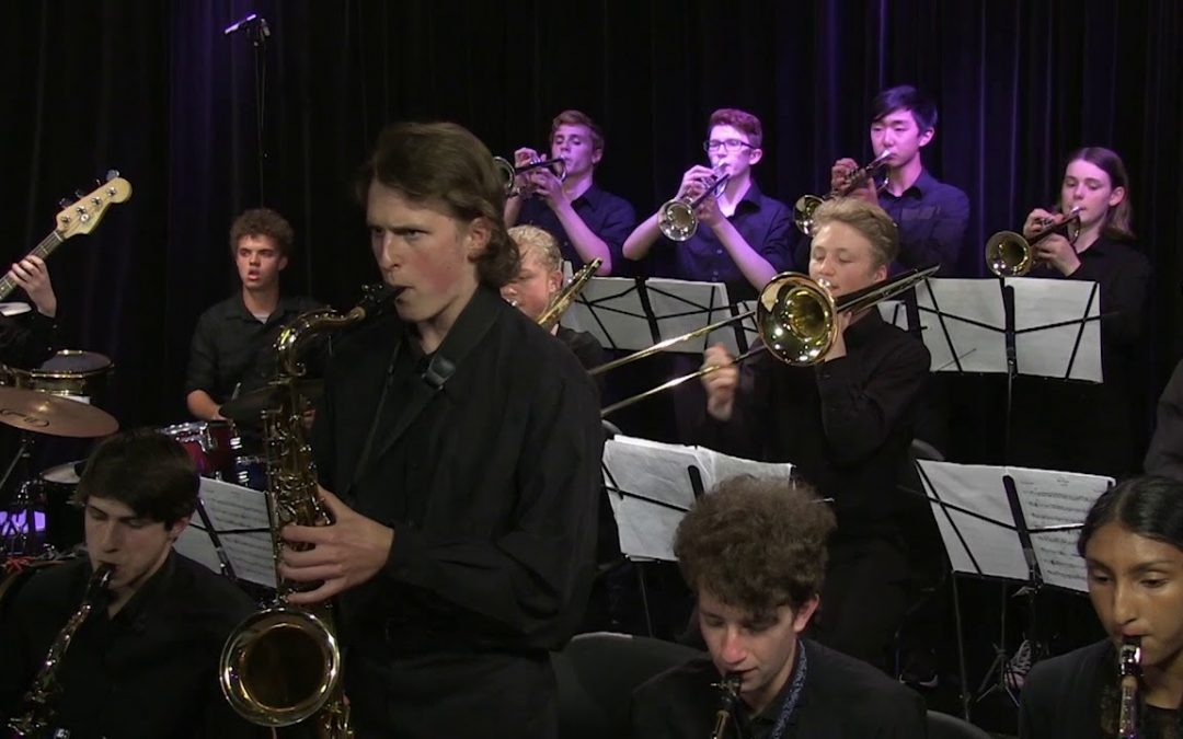 Arlington High School Jazz Band – ACMI Studio A Performance – 2017