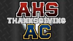 Arlington High School Varsity Football v. Arlington Catholic – Thanksgiving, 2018 LIVE