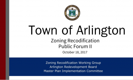 Zoning Recodification Second Public Forum – October 18, 2017