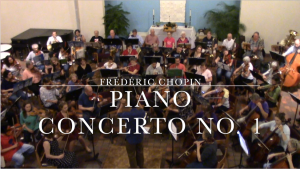Music Gazing – Chopin's Piano Concerto – Arlington Philharmonic Orchestra