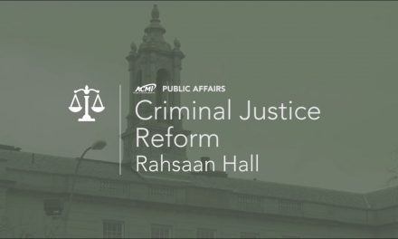 Rahsaan Hall on Criminal Justice Reform