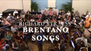 "Music Gazing – Strauss' ""Brentano Lieder"" – Arlington Philharmonic Orchestra"