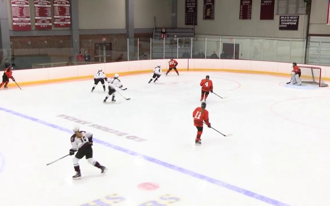 Arlington High School Girls Hockey vs Woburn – January 6, 2018