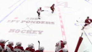 Arlington High School Boys Varsity Hockey vs BC High – January 8, 2018