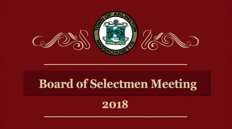 Selectmen Meeting – March 5, 2018