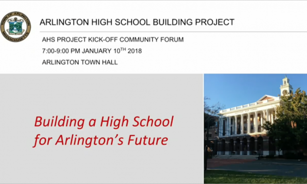 AHS Project: Community Kick-off Forum – January 10, 2018