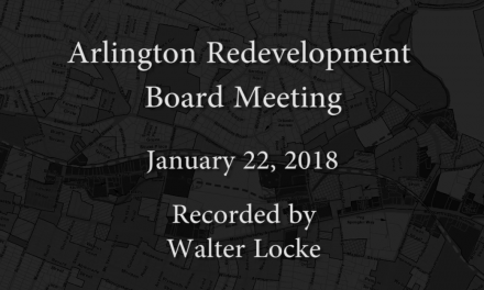 Redevelopment Board Meeting – January 22, 2018