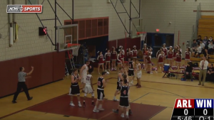 Arlington High School Boys Varsity Basketball vs Winchester – January 12, 2018