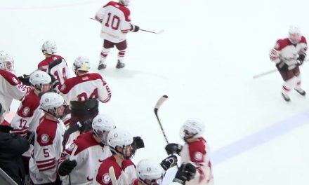 Arlington High School Boys Hockey vs Reading Memorial – February 3, 2018