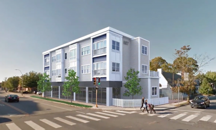 Multi-Use Building rises at 887 Massachusetts Ave.