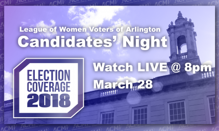 LWV Candidates' Night 2018 – Watch LIVE March 28 @ 8pm