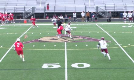 Arlington High School Boys Varsity Lacrosse vs Melrose – April 10, 2018