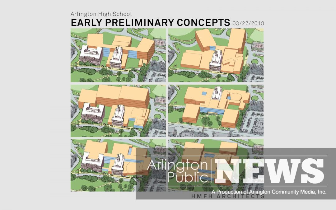 Arlington High School Preliminary Designs Chosen