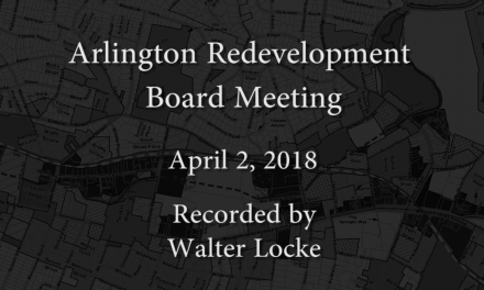 Redevelopment Board Meeting – April 2, 2018
