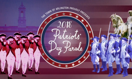 Arlington Patriots' Day Parade 2018
