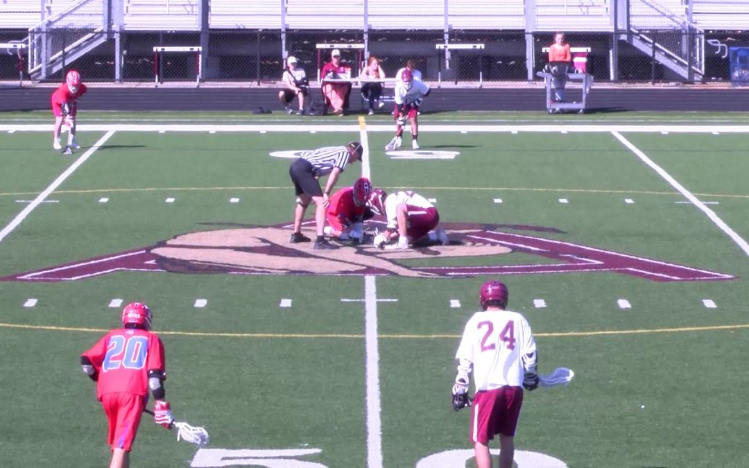 Arlington High School Boys Lacrosse vs Burlington May 8th, 2018