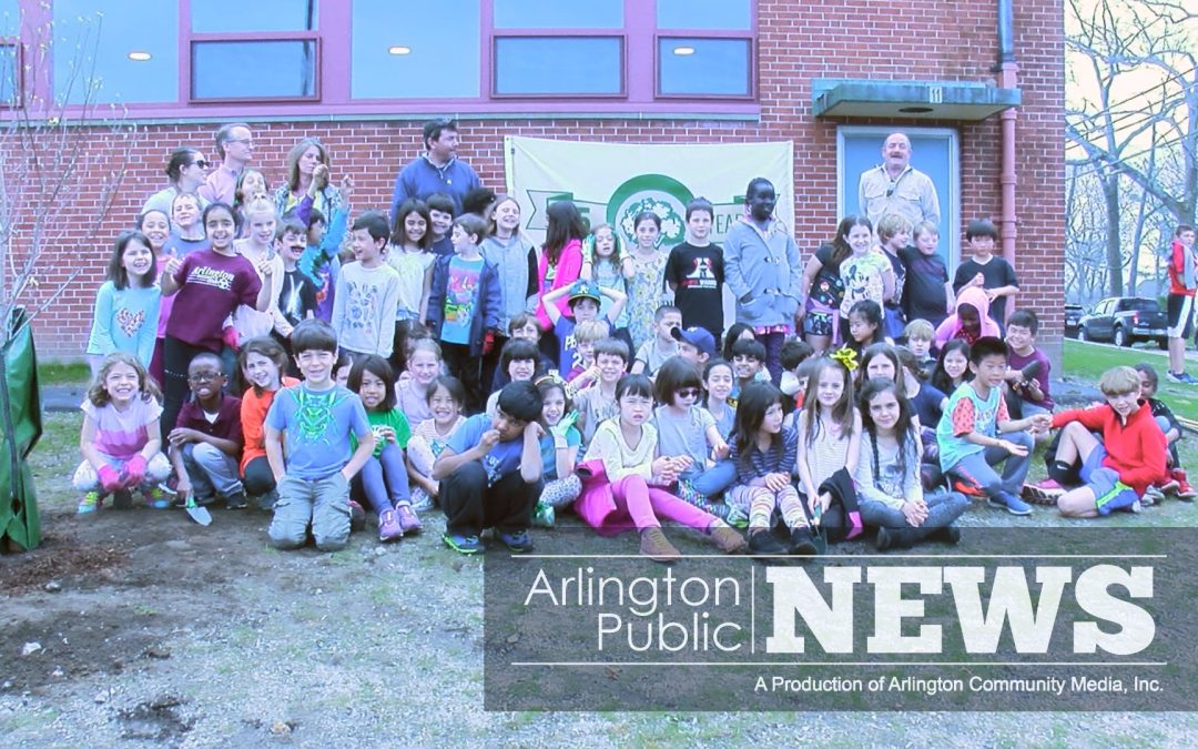 Students Celebrate Arbor Day, Learn About Town Trees