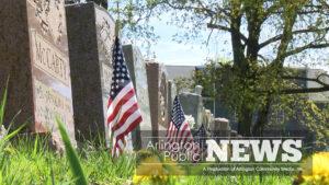 Flags Honor Fallen Heroes