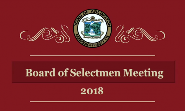 Selectmen Meeting – May 7, 2018