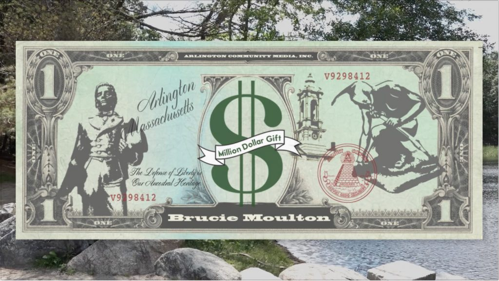 Million Dollar Gift – Brucie Moulton