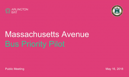 Mass. Ave. Bus Priority Pilot Forum – May 16, 2018