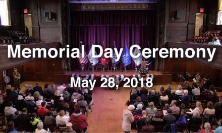 Memorial Day Ceremony 2018
