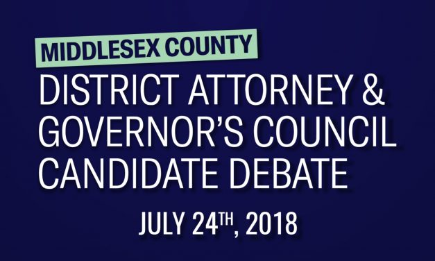 Middlesex County District Attorney & Governor's Council Candidate Debate