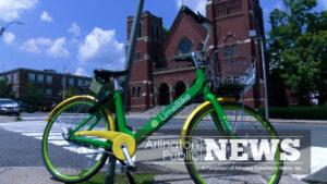 Lime Bikes in Arlington
