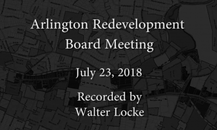 Redevelopment Board Meeting – July 23, 2018
