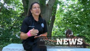 New Animal Control Officer Diane Welsh