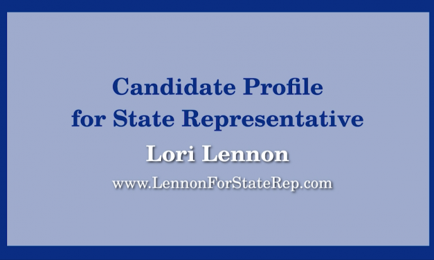 23rd Middlesex District State Representative Race – Lori Lennon Candidate Profile