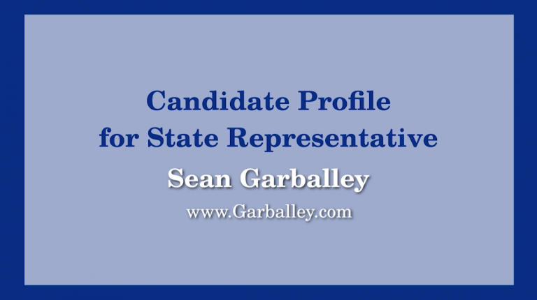 23rd Middlesex District State Representative Race – Sean Garballey Candidate Profile