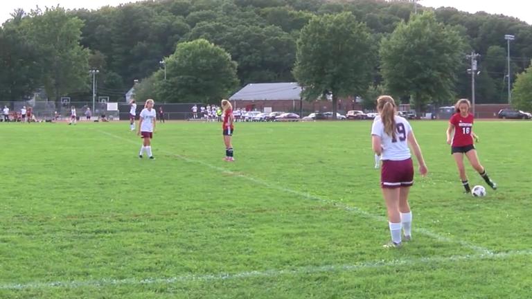 Arlington High School Girls Soccer vs Lexington September 20th, 2018