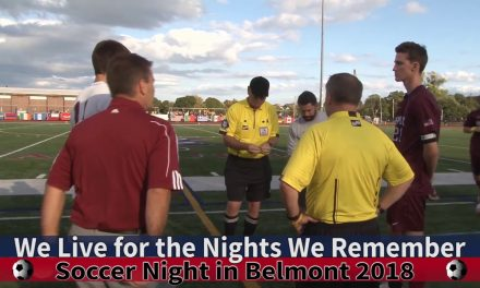 Arlington High School Boys Soccer vs Belmont September 29th, 2018