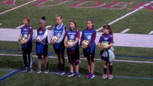 Arlington High School Girls Soccer vs Belmont September 29th, 2018