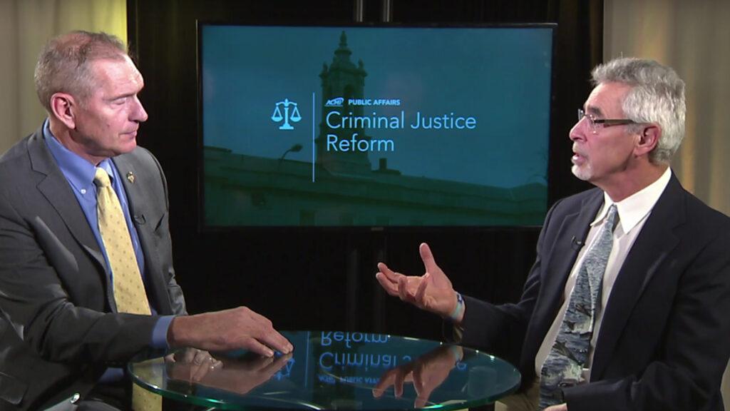 Criminal Justice Reform: Chief Fred Ryan – October 30, 2018