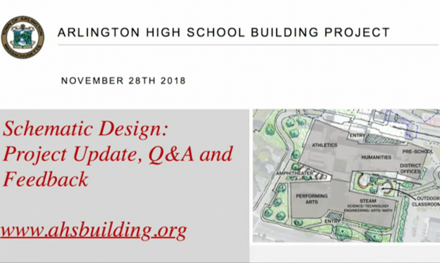 AHS Building Committee Community Forum – November 28, 2018