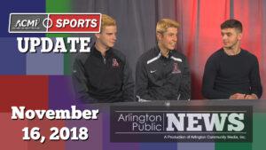 ACMi Sports Update: November 16, 2018