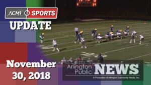 ACMi Sports Update: November 30, 2018