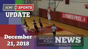 ACMi Sports Update: December 21, 2018