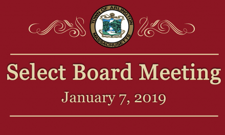 Select Board Meeting – January 7, 2019