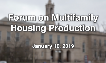 Forum on Multifamily Housing – January 10, 2019
