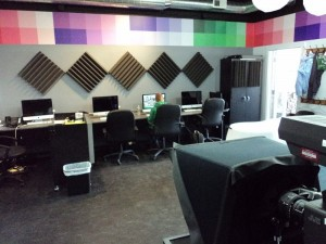 Studio B, seen here, is located across from AHS at 892 Mass Ave.
