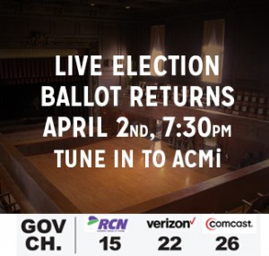 Live Election Coverage Arlington MA ballot return television